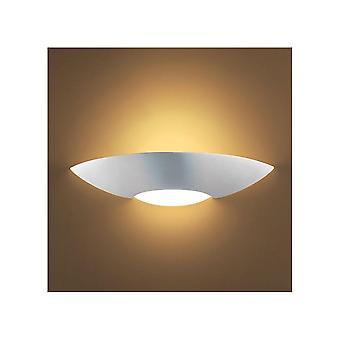 光のスリットでアンセル リゲル 75 w E27 白い漆喰壁のランプ