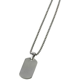 Ti2 titaani kaulapantaa riipus - hopea