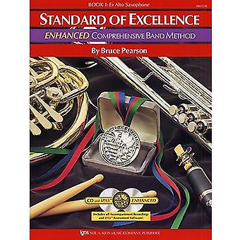 Enhanced Standard of Excellence Alto Saxophone BK1