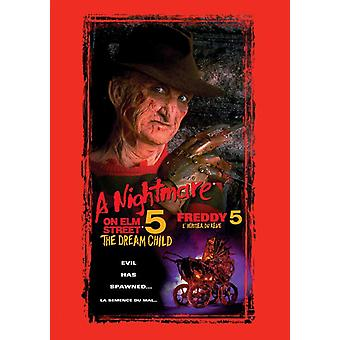 A Nightmare on Elm Street 5 The Dream Child Movie Poster (11 x 17)