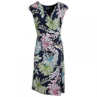 Michaela Louisa V-neck Floral Print Sleeveless Dress
