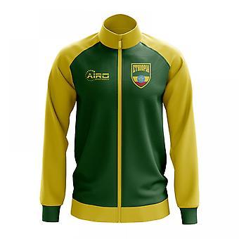 Etiopian käsite jalkapallo Track Jacket (vihreä)