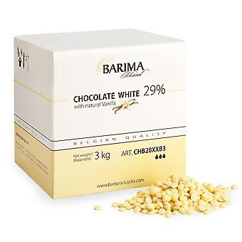 Barima Artisanal White Chocolate Callets