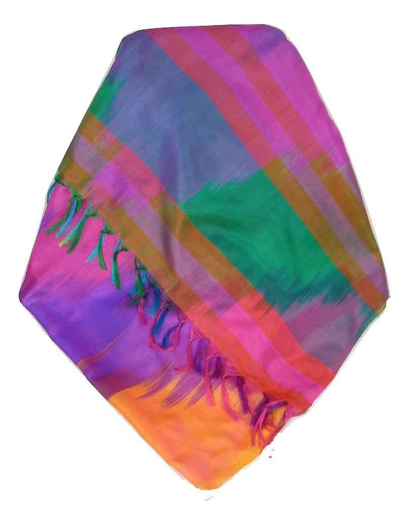 Varanasi Ekal Premium Silk Long Scarf Heritage Range Bera 9 by Pashmina & Silk