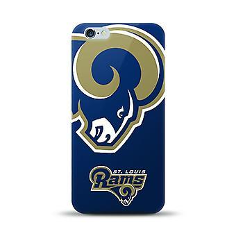 Mizco Sports NFL Oversized Snapback TPU Case for Apple iPhone 6 Plus / 6S Plus (St. Louis Rams)