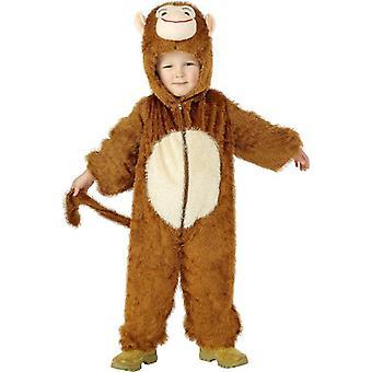 Affen Kostüm, klein.  Kleine 4-6 Jahre