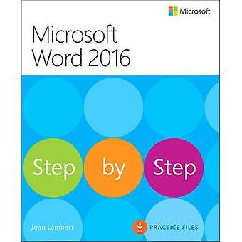 Microsoft Word 2016 by Joan Lambert - Steve Lambert - 9780735697775 B