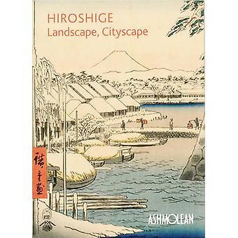 هيروشيغه-المناظر الطبيعية-سيتي سكيب-الخشبية يطبع في اشموليان