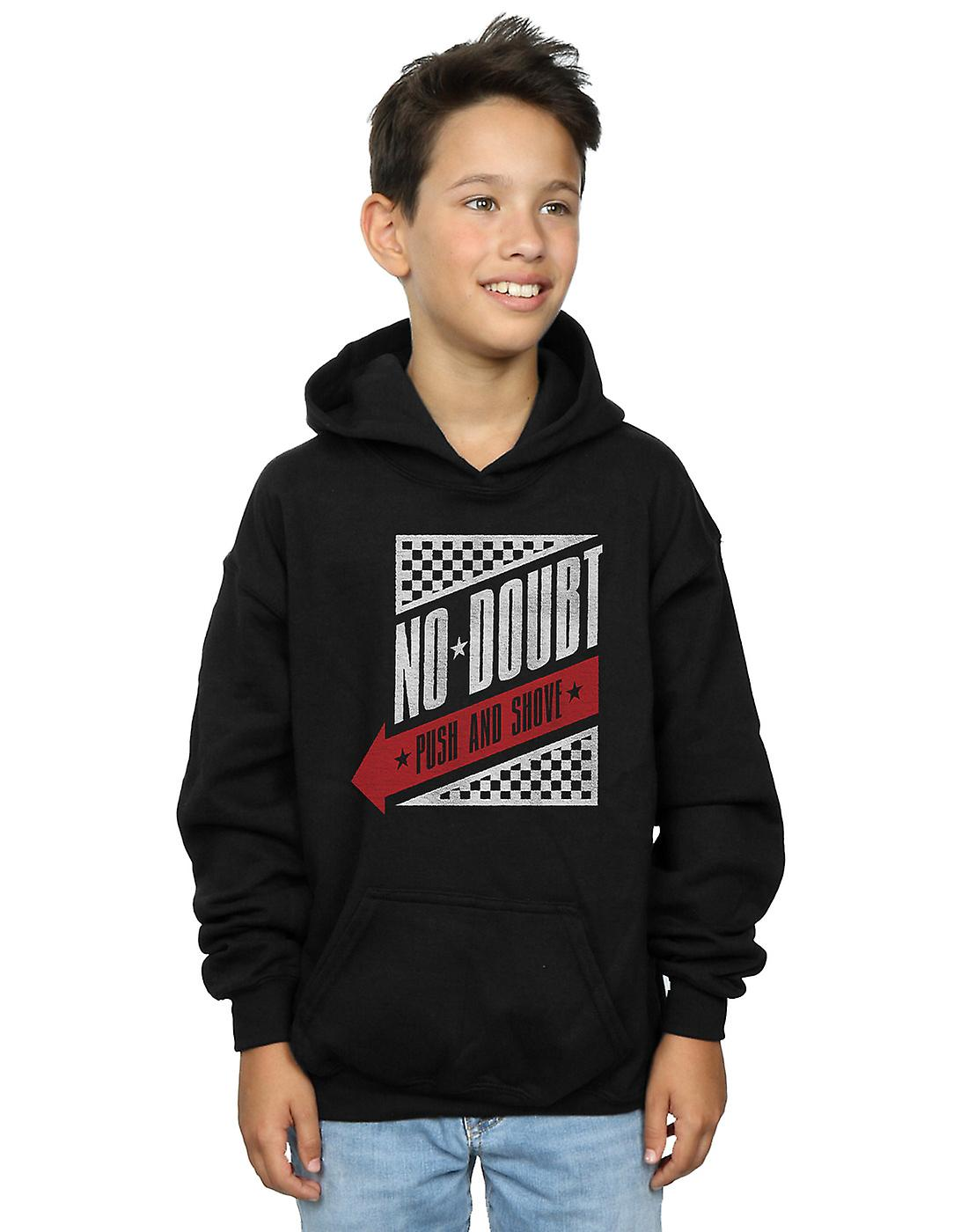 No Doubt Boys Raceway Logo Hoodie
