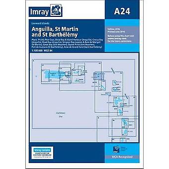 Imray Chart A24 - Anguilla - St Martin and St Barthelemy by Imray - 97