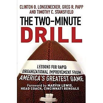 Il trapano di due minuti: Lezioni rapido miglioramento organizzativo da gioco più grande di America