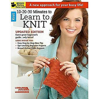 10-20-30 minuter att lära sig att sticka: en ny strategi för ditt liv!