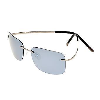 Förenkla Ashton polariserade solglasögon - Gunmetal/Silver