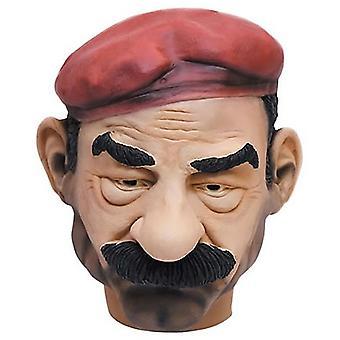 Saddam Hussein Maske Iraq dictator Saddam mask tyrant Carnival