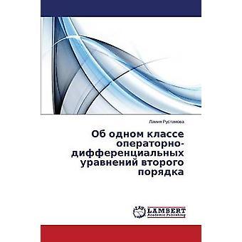 OB Odnom Klasse OperatornoDifferentsialnykh Uravneniy Vtorogo Poryadka by Rustamova Lamiya