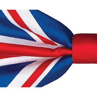 Dobell Mens Union Jack Flag Bow Tie Pre-Tied