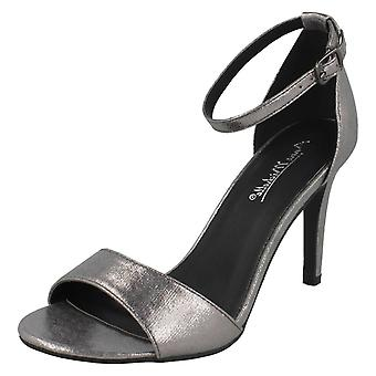 Ladies Anne Michelle High Heel Metallic Sandals