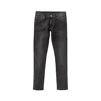 Nudie Jeans Co Tight Terry Skinny Fit Jeans (Black Treats)