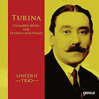 Turina / Lincoln Trio - Chamber Music for Strings & Pno [CD] USA import