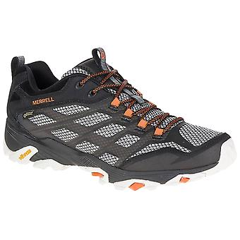 Merrell Black Mens Moab FST GTX Walking Shoes