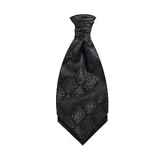 Black Da Vinci Cravat