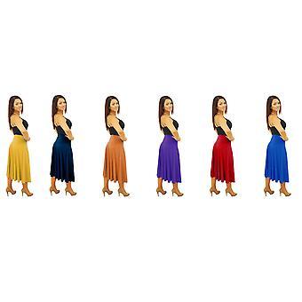 DBG kvinders dame blusset MIDI sommer nederdele