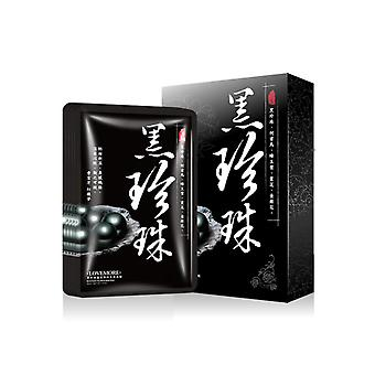 Lovemore Oriental Black Pearl Ture White Mask 5pcs