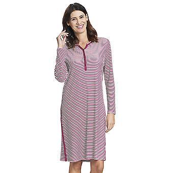 Rasch 1193515-16415 Mujeres's Smart Casual Blush Pink Striped Mix Cotton Nightdress