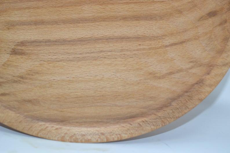 Holz Schale Schuessel Bowl Buche 26x6 Handmade Made in Austria Holzdekoration Holzdeko Dekoration Unikat Geschenk Geschenkidee