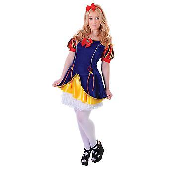 Bristolské novoty/dívky Snowbeauty kostým
