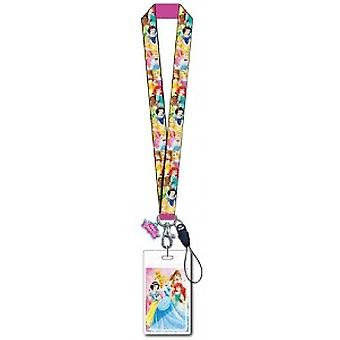 Lanyard-Disney-w/Soft dotyk Dangle Princess 86084