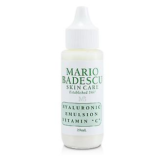 Mario Badescu Hyaluronic Emulsion With Vitamin C - For Combination/ Dry/ Sensitive Skin Types - 29ml/1oz