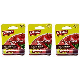 Carmex granaattiomena kiinni X 3