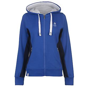 Hurlingham Polo 1875 Donne Lorna zip Hoody Ladies Hoodie Top