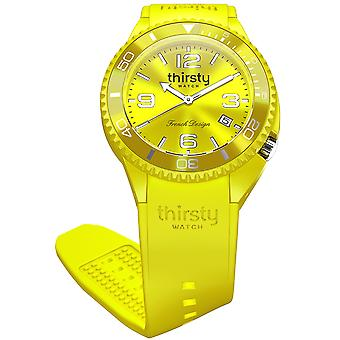 Thirsty star fruit unisex Japanese Quartz Analog Unisex Watch with Silicone Bracelet BO-STARF