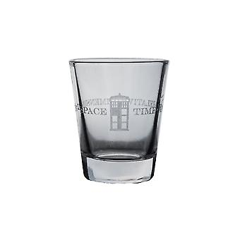 2oz time and relitave shot glass r1