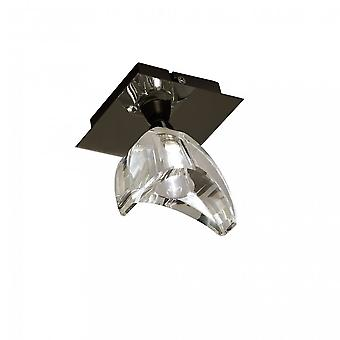 Mantra Eclipse Ceiling 1 Light G9, Black Chrome