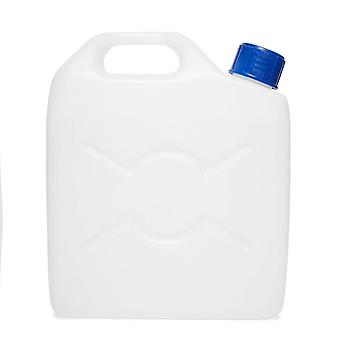 FPS 9.5 Litre Jerry Can Screw Camping Water Container White