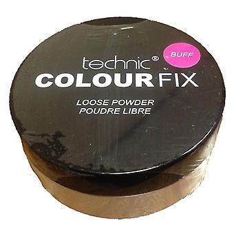 Technic Colour Fix Loose Powder- Buff