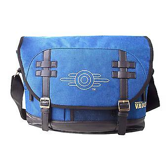 Fallout Messenger Bag Vault-Tec Logo new Official  Blue