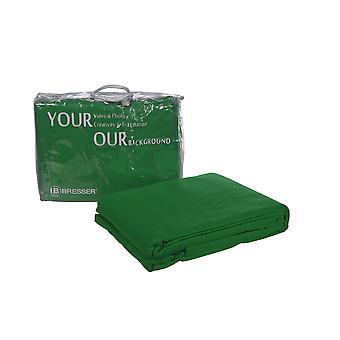BRESSER Y-9 Sfondo tessuto 3x4m Chromakey-verde