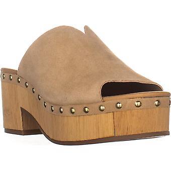 Lucky Brand Womens Simbrenna Peep Toe Clogs
