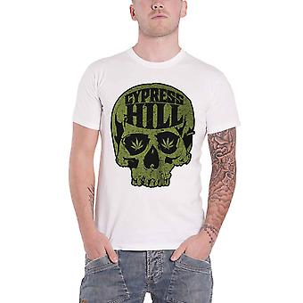 Cypress Hill T Shirt Skull Band Logo Rise Up new Official Mens White