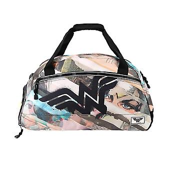Wonder Woman Collage Uptown Sports Holdall Bag