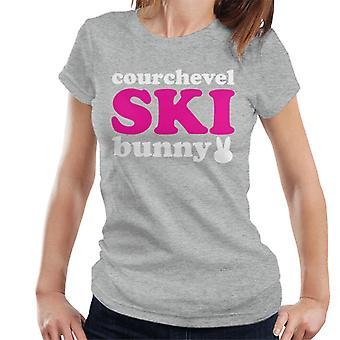 Courchevel Ski Bunny Women's T-Shirt