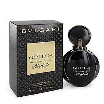 Bvlgari Goldea den romerska natten Eau de Parfum 75ml EDP spray