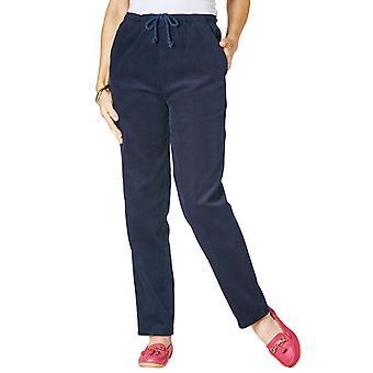Chums Ladies Corduroy Tie-Waist Leisure Trousers