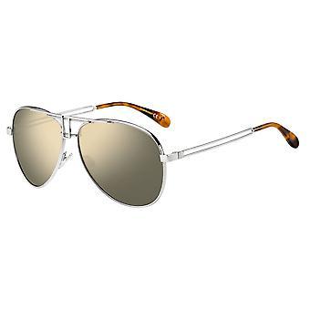 Givenchy GV7110/S 010/UE Palladium/Grey-Silver Mirror Sunglasses