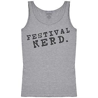 Festival Nerd. - Camiseta de las mujeres tanque