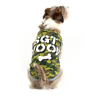 Camouflage Dog Costume, L